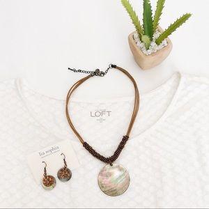 Lia Sophia Harvest Moon Necklace